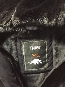 TNA goose-down jacket, size: large, condition: 9/10, price:$190