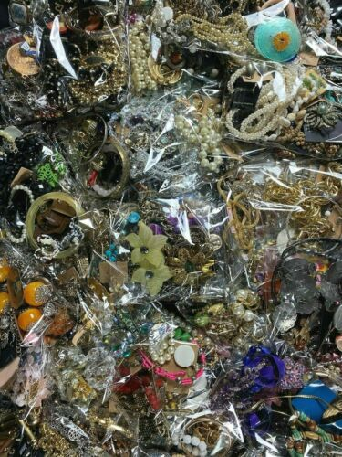 💎 ESTATE VINTAGE TO NOW JEWELRY LOT OF 20 PCS NO JUNK EARING NECKLACE BROOCH💎