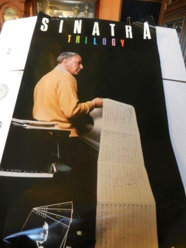 Frank Sinatra 1980 Reprise Trilogy Poster Past, Present, Future Poster