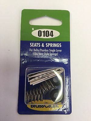 Seats and Springs for Delta/Peerless Single Lever Old / New Style Springs SL0104 ()