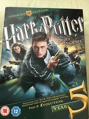 Harry Potter And The Order Of The Phoenix Ultimate Edition,,,free p&p