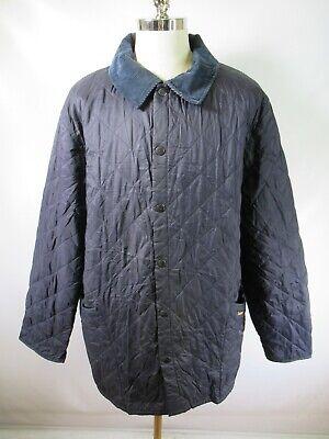 E7679 VTG BARBOUR LIDDESDALE Quilted Jacket Size 2XL