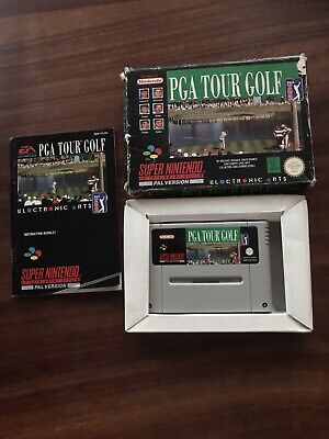 PGA Tour Golf Super Nintendo SNES Boxed Complete Game for sale  Shipping to Nigeria