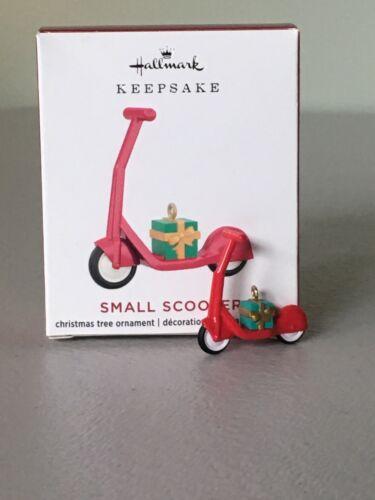 Hallmark 2020 SMALL SCOOTER Mini Ornament ~ NMIB