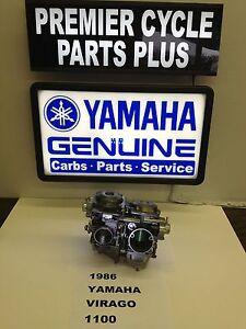 1986 yamaha virago xv 1100 set of hitachi carbs for Yamaha virago 1100 carburetor adjustment