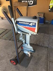 Evinrude outboard 4.5 hp Dernancourt Tea Tree Gully Area Preview