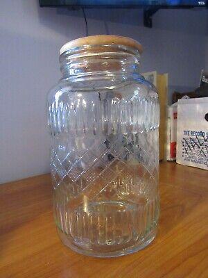 Big Glass Jars (BIG Glass Jar W/ Wood Top)