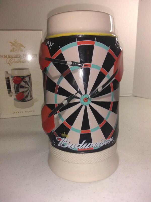 Anheuser Busch Budweiser 2007 COLLECTION  DARTS STEIN  #778   NIB   NICE !!!