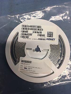 1400 Kemet C1210c105k1rac Capacitors Mlcc   Smd Smt 100Volts 1Uf 10  X7r Rohs