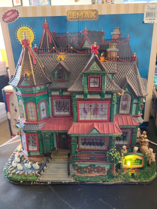 Lemax Twelve Days of Christmas Manor House Village Collection 2009 PLEASE READ