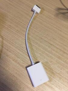 Original apple iPhone iPad 30 pin VGA adapter Perth Perth City Area Preview