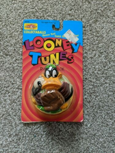 "Warner Bros. Looney Tunes Daffy Duck ""Collectaballs"" by Spectra Star 1995 NIB"