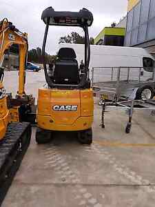 Excavator 2016 model 165 hours Padstow Bankstown Area Preview