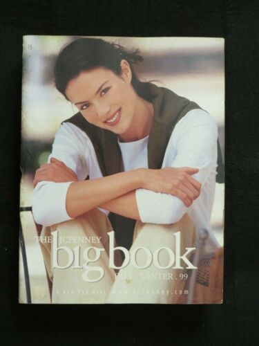 Vintage 1999 JCPenney Catalog Fall And Winter 90's Clothing Styles Big Book