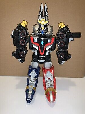 Power Rangers Megaforce Lion Mechazord & Robo Knight Megazord Bandai 2011 w/Legs