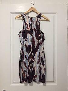 Shona Joy Patterned dress - size 10 New Farm Brisbane North East Preview