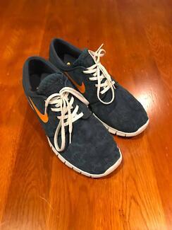 Nike Janoski Max Blue Orange US11