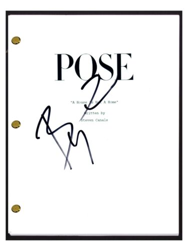 Billy Porter Signed Autographed POSE Pilot Episode Script COA