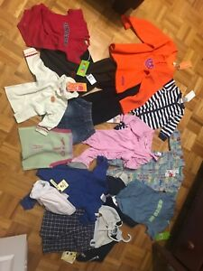 BRAND NEW BABY CLOTHES FOR BOYS AND GIRLS