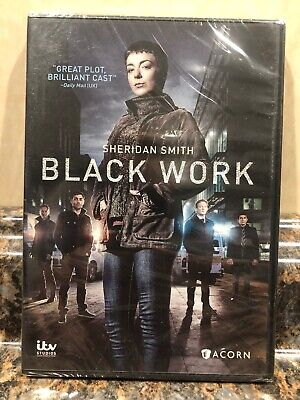 ACORN MEDIA 'BLACK WORK' 1ST 3 EPISODES SHERIDAN SMITH DVD NEW