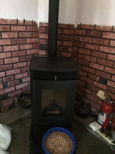Wood Burning Pellet Stove