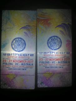 Earth core tickets