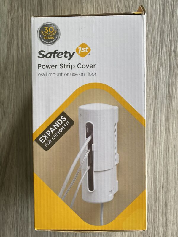 Safety 1st Power Strip Cover Protector Child Proof Adjustable
