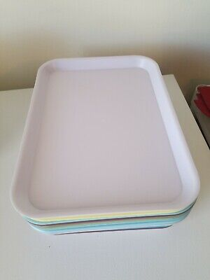 Lot Of 12 Dental Size B Type Dental Trays With Multiple Colors