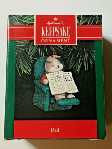 Hallmark Keepsake Ornament DAD dated1992