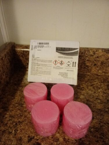 12 Pink cherry Urinal Toss Blocks RMC