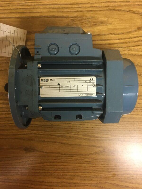 ABB Motor MVM07552D-AP .55 KW - 230/400-460-Volt - 2790/3420 RPM