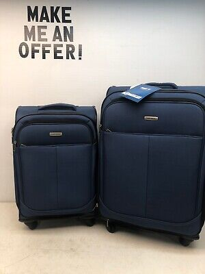 "New Samsonite Advance XLT 2-Pc Softside 21"" 25"" Suitcase Luggage Set 91331-1598"