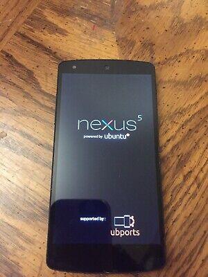 LG Nexus 5 with Ubuntu Touch - 16 GB - Black Unlocked Smartphone NOT Android