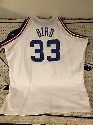 Larry Bird All-Star East Authentic MITCHELL & NESS NBA BASKETBALL JERSEY Sz 60