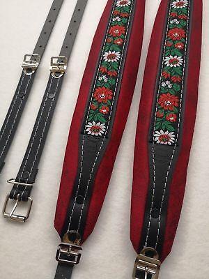 Folk Accordion shoulder Straps/belts,Akkordeongurte,coreas,Bretelles,Courroies