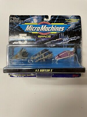 MICRO MACHINES Space Babylon 5 Set #5  3-Vehicle Pack Galoob 1995 MOC