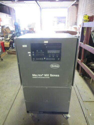 NORDSON MELTEX MX SERIES ADHESIVE APPLICATION SYSTEM MX4412-2X10CCXX31 (GOOD CON