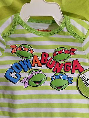 Infant Teenage Mutant Ninja Turtles 6/9 Months Cowabung Dude   NWT'S One Piece - Teen Dudes