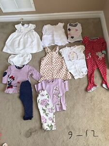 9-12 months girl clothes