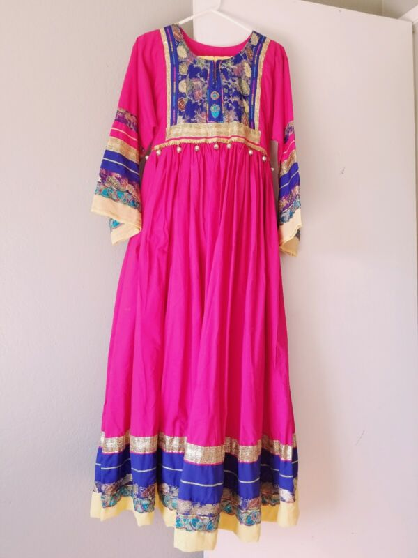 Indian pakistani Afghan Kuchi party traditional fancy dress clothes