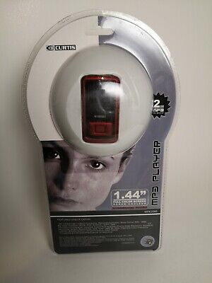 "Curtis 2GB MP3/WMA Music/Video Player 1.44"" Color Screen"