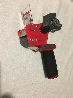 Scotch 3m Packaging Tape Gun Dispenser 2 Inch Foam Grip Shipping Packing