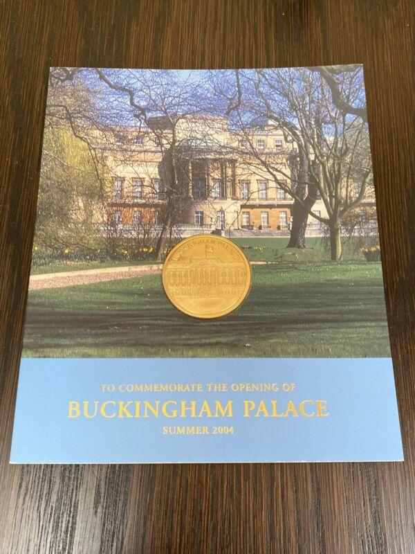 Buckingham Palace 2004 Commemorative Gold Coin BU Condition in Original Folder
