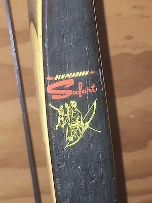 BEN PEARSON SAFARI RECURVE BOW CAT. NO 968 GARAGE SALE FIND UNKOWN HISTORY