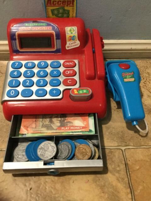 Kids Electronic cash register | Toys - Indoor | Gumtree Australia Logan