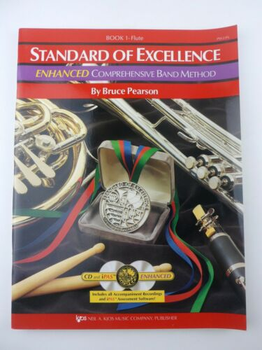 PW21FL - Standard of Excellence Enhanced Book 1 Flute + CD