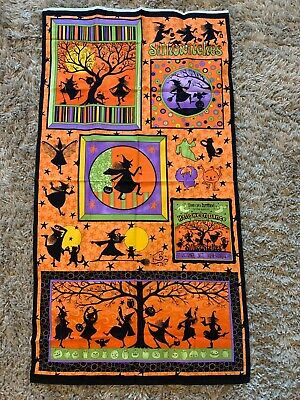 Marcus Halloween Fabric (Halloween Dance fabric panel Witches by Marcus Fabrics 23 X)
