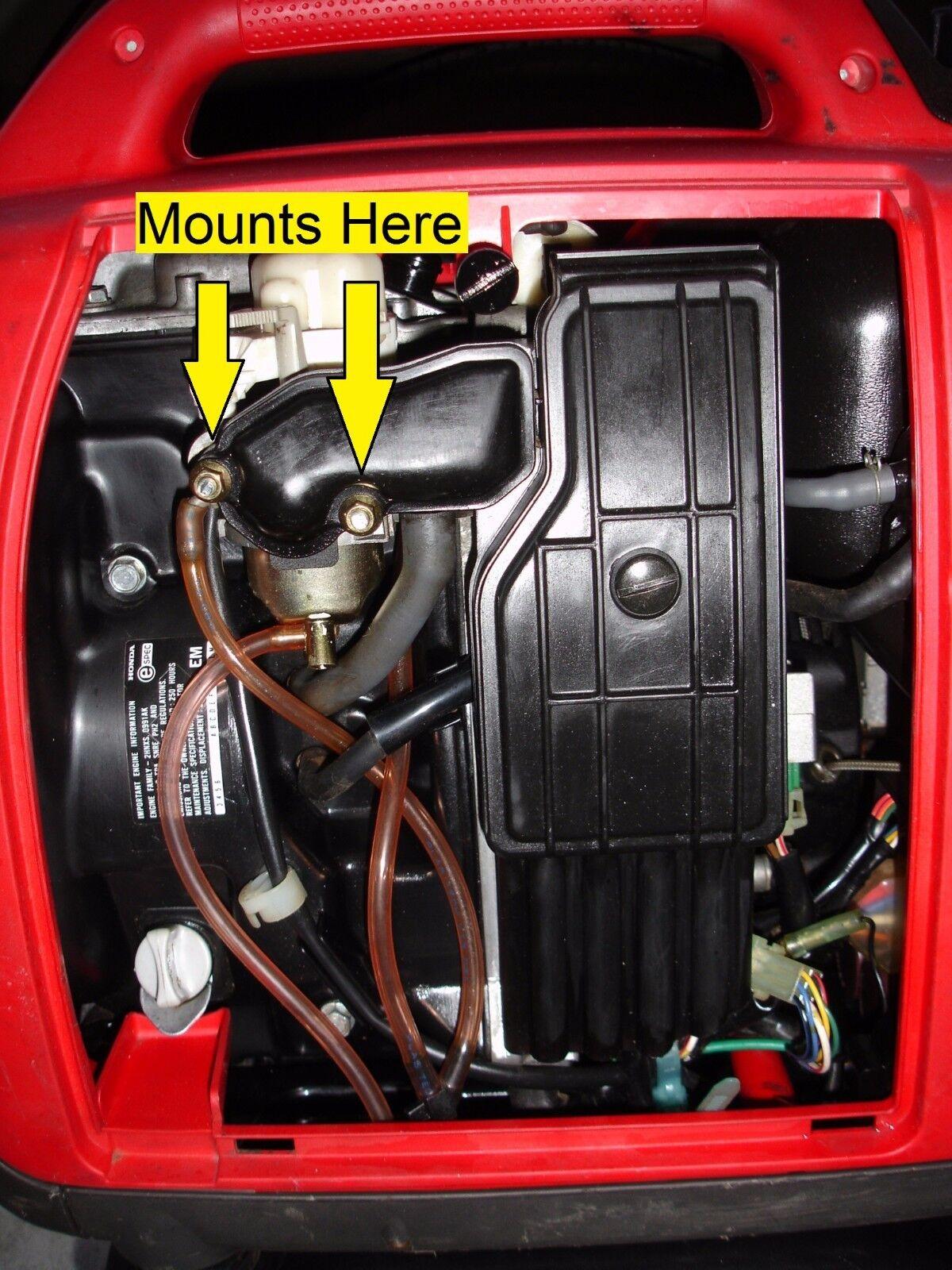 Tiny Tach Digital Hr. Meter Tachometer & Bracket Honda Generator EU1000I EU2000I | eBay
