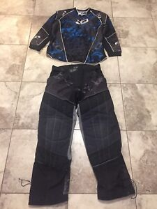 Paintball. Planet eclipse pants and jersey