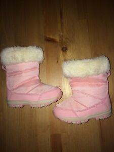 Baby Girl Pink Winter Boots